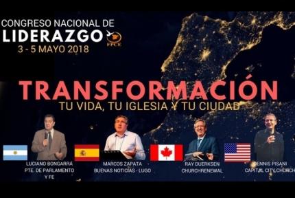 Marcos Zapata en el IV Congreso Nacional de Liderazgo (Pastores)