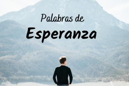Palabras de Esperanza: Rutina