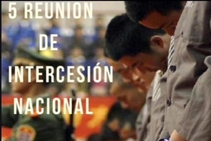Reunión Intercesión Nacional