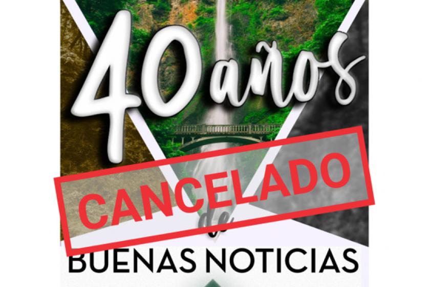 Suspensión Retiro Nacional 40 Aniversario Y VIII Jornadas Misioneras 1/2
